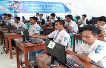 Simulasi ujian nasional berbasis komputer (UNBK) 2018